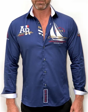 Absolute Rebellion Shirt Admiral Navy