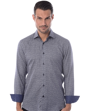 Navy Fashion Shirt