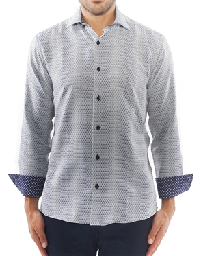 Designer Navy Fashion Shirt