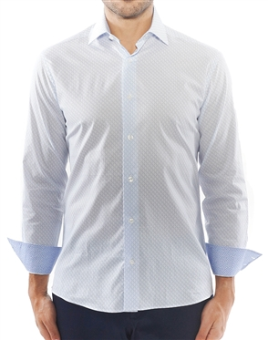 Blue Luxury Sport Shirt