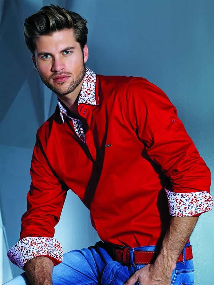Mondo Jeans | Red Dress Shirt G7039-06