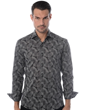 Black White Casual Sport Shirt