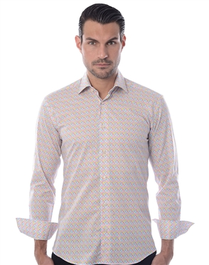 Luxury White Sport Shirt
