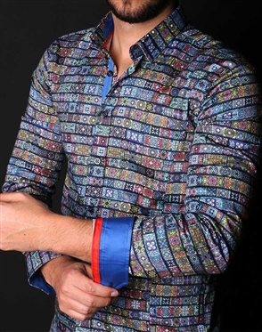 Multi Colored Dress Shirt