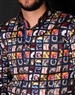 Digital Print Dress Shirt