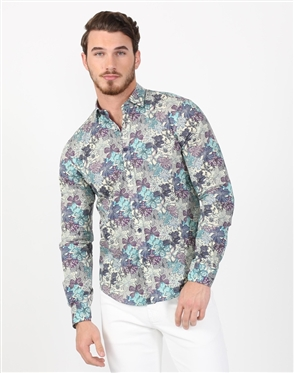 Tropic Valley Men's Designer Men's Shirt
