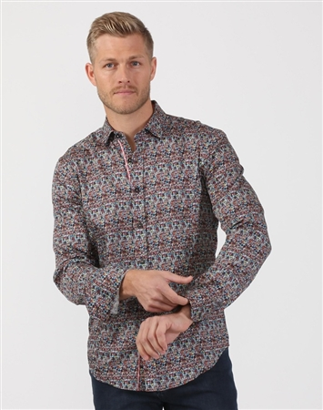 Head Shot Print Shirt