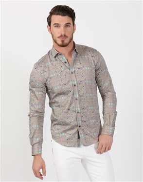 Hypnotic Men's Luxury Dress Shirt