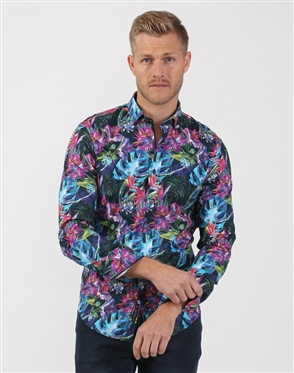 Austere Luxury Retro Floral Print Shirt (SS 19)