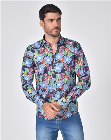 Luxury Sport Shirt - Multicolored Fashion Shirt