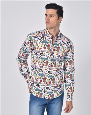 Austere Luxury The Cuban Print Shirt