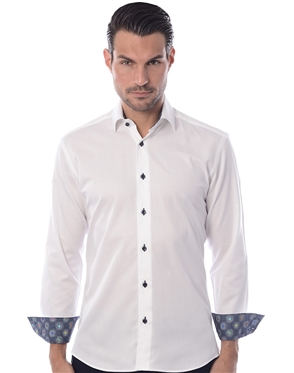 White Casual Sport Shirt