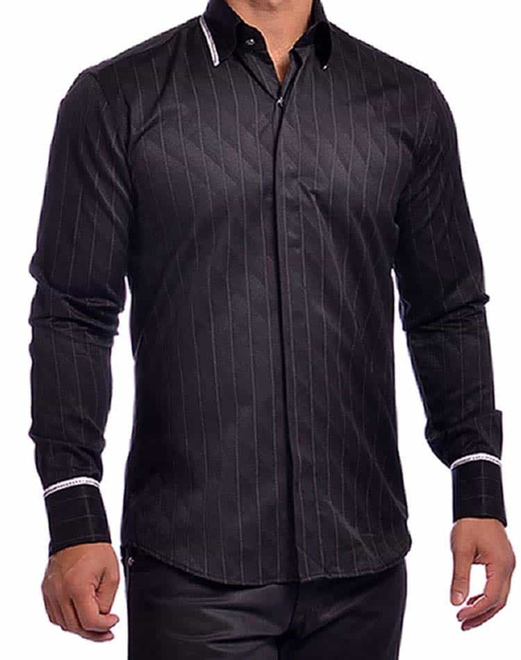 Mondo Jeans Black Ralph 7678 Dress Shirt