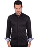 Ebony Black Men's Designer Men's Shirt