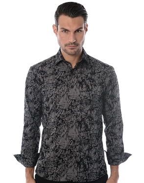 Black Gray Fashion Shirt