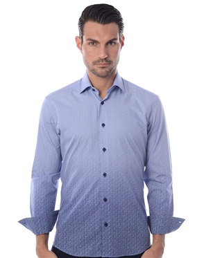Casual Blue Sport shirt