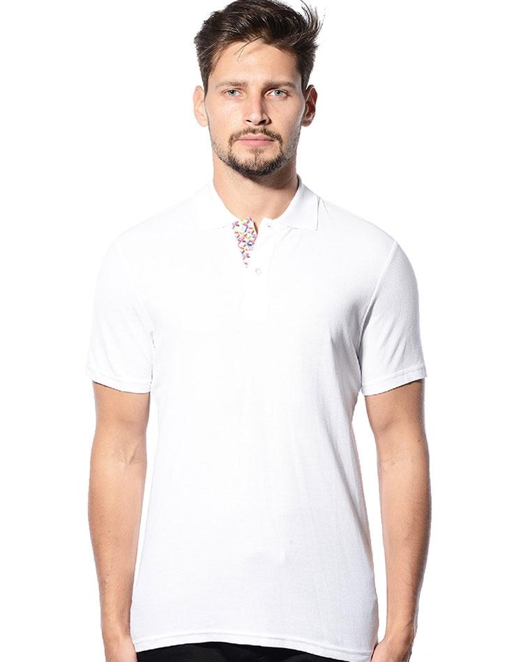 Bertigo Blanc Collection Polo Vienna White