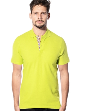 Designer Polo Shirt- Lime Color Polo