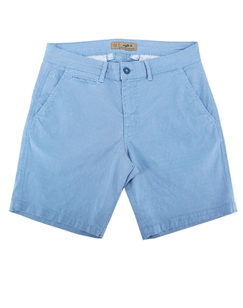 Blue Slim Fit Jaquard Shorts|Eight-x Luxury Slim Fit Shorts