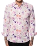 White Pink Floral Shirt