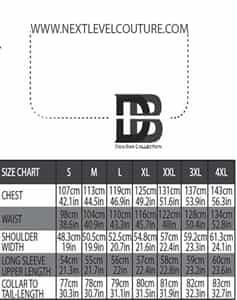 don bas men size chart