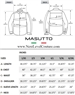 masutto men size chart