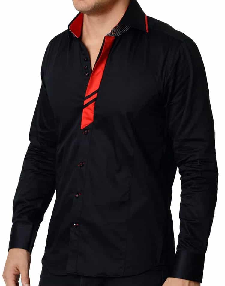 751ba9d3 T R Premium shirts- 535 Black