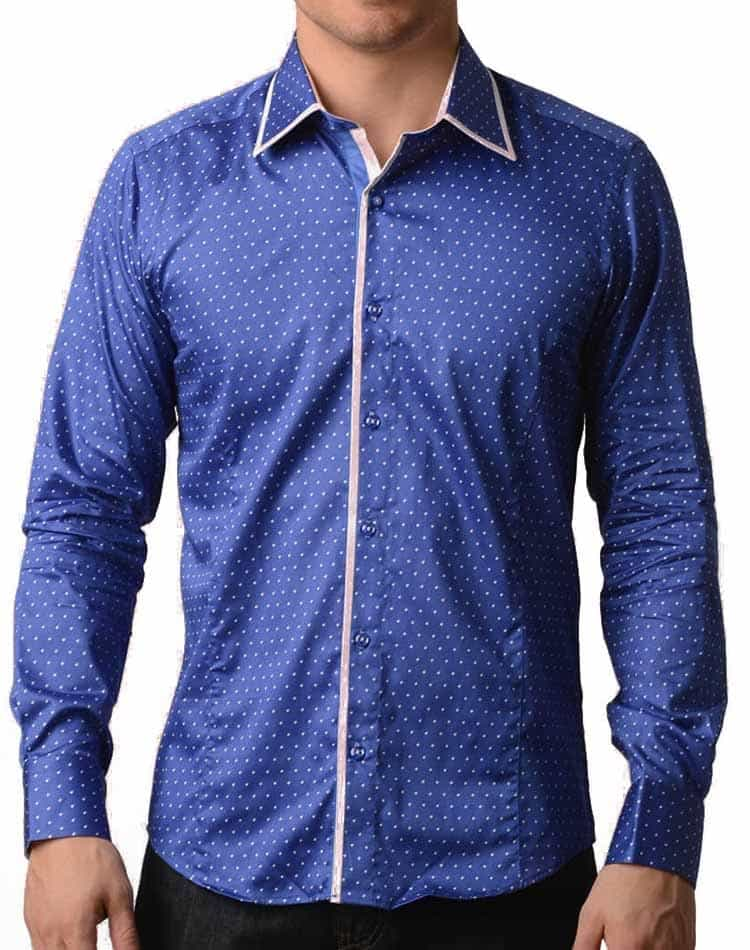 3369bfb6127 Blue Dress Shirt- TR Premium 536 royal blue
