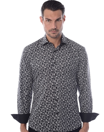 Black White Fashion Shirt