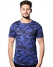 Men Camo T-Shirt -  Blue Camo T-Shirt