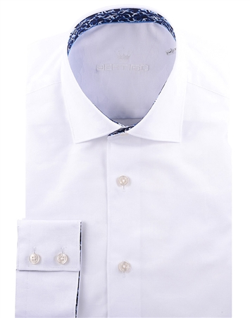 Luxury White Dress Shirt