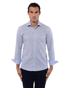 Luxury Blue Shirt