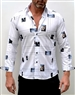 Absolute Rebellion Shirt Angelo Bianco White