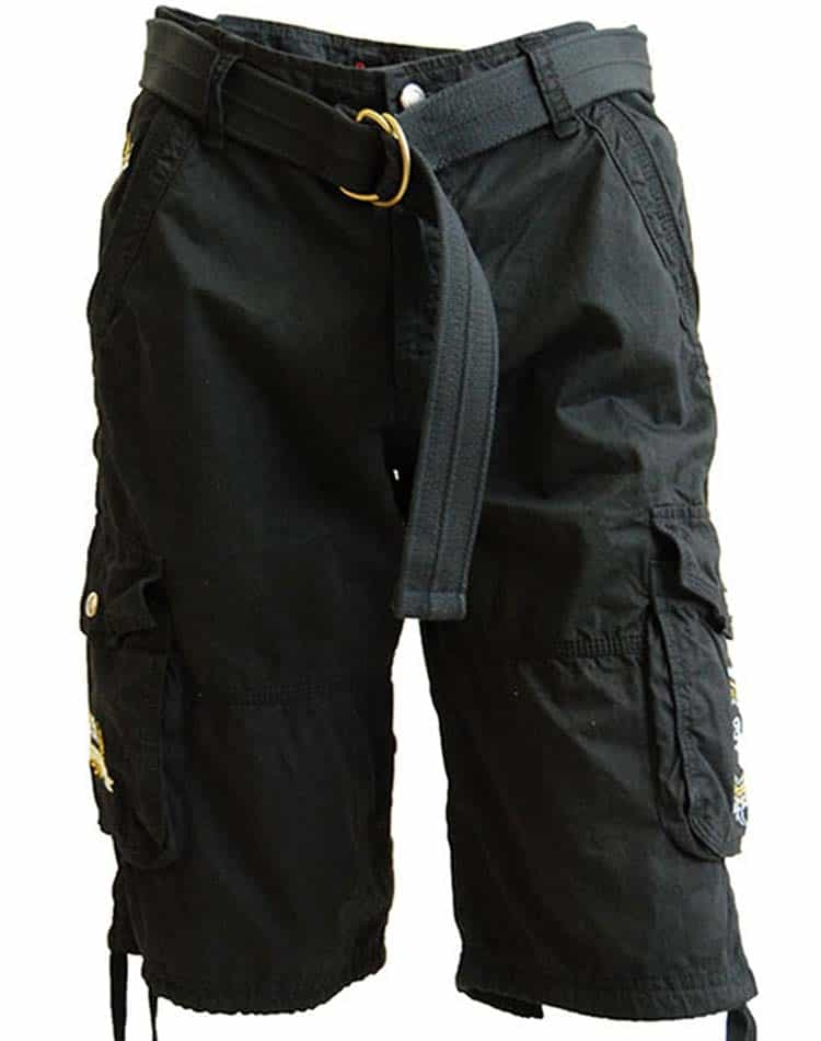 cargo shorts absolute rebellion adventure black