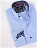 Elegant Light-blue Dress Shirt