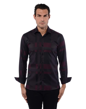 Elegant Black Dress Shirt