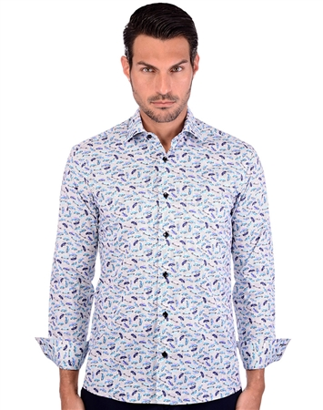 Multi Men's Sport Shirt