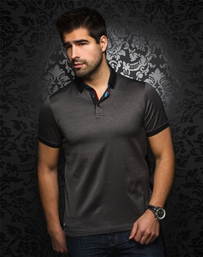 Sporty Black Polo