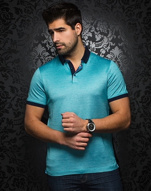 Shop Men Designer Polo - Andrew Green