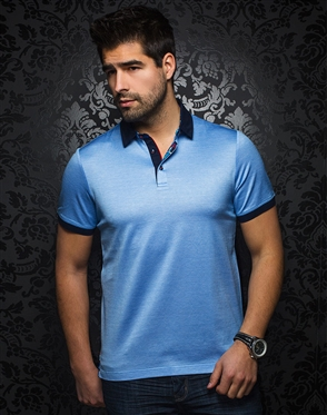 Light Blue Fashion Polo