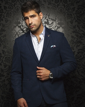 Shop Men: Luxury Sport Coat Navy