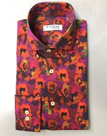 Luxury Purple dress Shirt