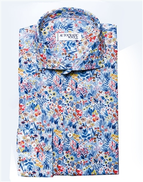 Luxury Floral Dress Shirt