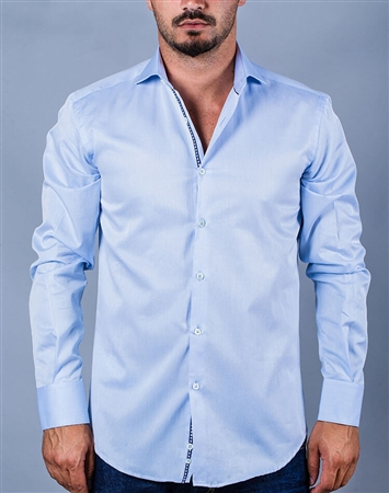Business attire: Blue Business Shirt