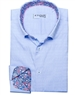 Light Blue Jacquard dress shirt