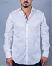 White Italian Casual Dress Shirt