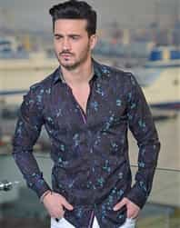 Men Fashion Italian Sport Shirt Affluence