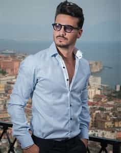 Men Italian Business Shirt