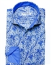 Blue Paisley Vine Dress Shirt
