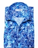 Blue and Aqua Paisley Dress shirt